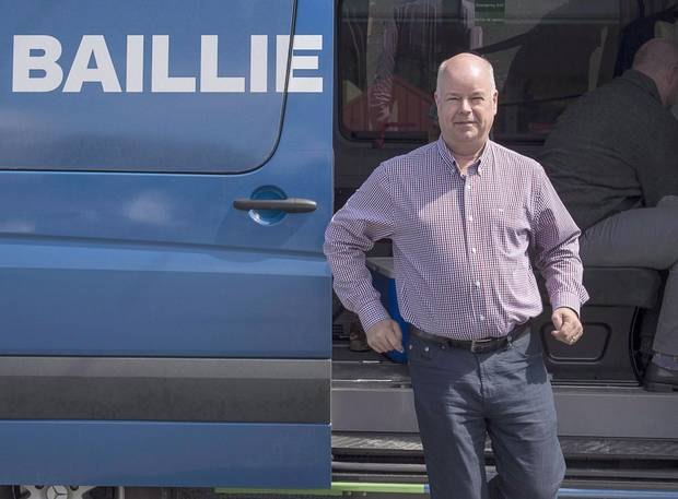May 8, 2017: Nova Scotia Progressive Conservative leader Jamie Baillie makes a campaign stop in Lower Sackville, N.S.