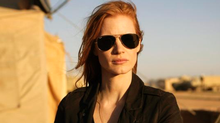 Jessica Chastain in Zero Dark Thirty. Chastain was nominated for an Academy Award for best actress for her role in the film. The 85th Academy Awards will air live on Sunday, Feb. 24, 2013, on ABC. (Jonathan Olley/AP)