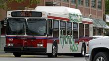 New Flyer Industries has purchased a business unit that supplies repair parts for heavy-duty transit buses for about $29-million (U.S.). (Jeff Bassett/BC TRANSIT)