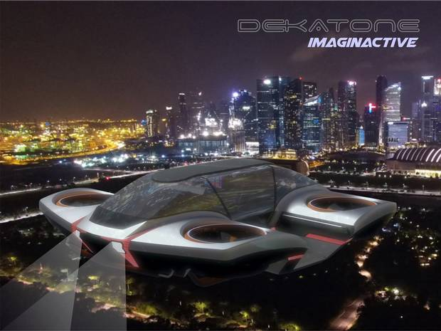 The aircraft's ease of use would give it an edge over other flying cars.