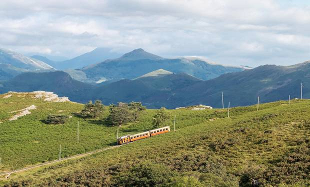 train de La Rhune, Pays Basque, France.