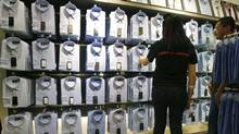One factor hanging over the entire retail clothing sector is the state of the U.S. economy. Its growth rate has been stuck in low gear – and unemployment remains at a high level. (Damian Dovarganes/Associated Press)