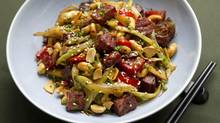 Mission Chinese Food Kung Pao Pastrami. (Kevin Van Paassen/The Globe and Mail)