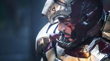 Robert Downey Jr. returns with his rakish louche style in Iron Man 3. (Zade Rosenthal/AP)