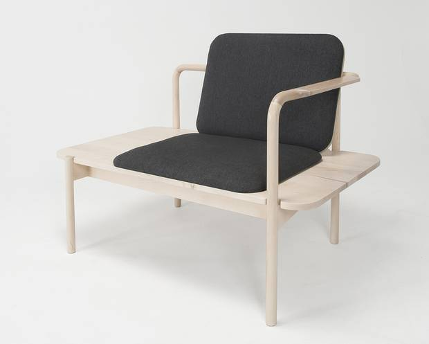 """2016 TO DO highlight: Nathan Clarke's """"Reed"""" chair."""