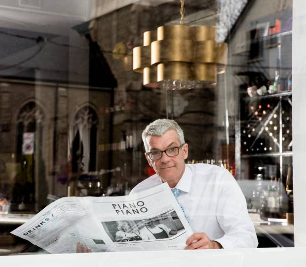 ONLINE RESERVATIONS Jeff Dinan, front-of-house manager for Piano Piano in Toronto, says online booking systems and social media have made keeping track of diners' preferences easier, but that personal touches and face-to-face interaction remain the mark of supreme restaurant service.