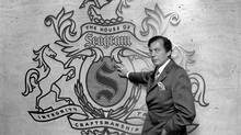 Edgar M. Bronfman became CEO of Montreal-based distiller Seagram Co. Ltd. in 1971, retiring in 1994. (WILLIAM E. SAURO/NYT)