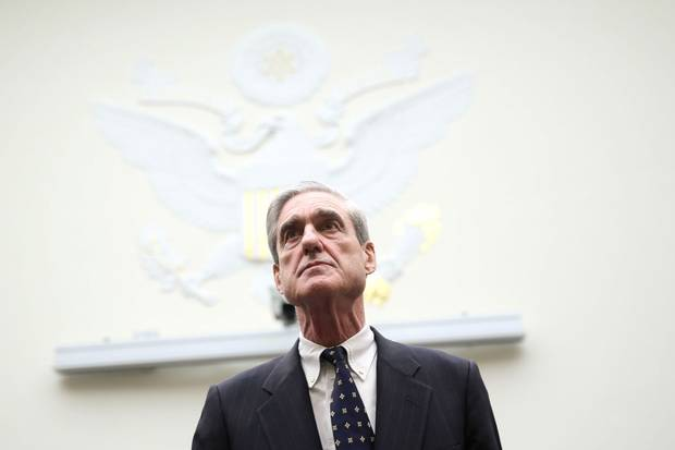 Robert Mueller, then the FBI director, arrives at a hearing before the House Judiciary Committee on Capitol Hill on June 13, 2013.