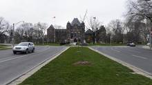 Toronto officials are trying to keep the silhouette of Queen's Park, alongw with other landmarks, from being interrupted by highrise towers. (Fred Lum/The Globe and Mail)