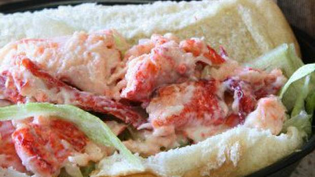The McLobster sandwich at a McDonalds in Antigonish, N.S.