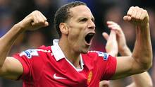 Manchester United's English defender Rio Ferdinand (GLYN KIRK/AFP/Getty Images)