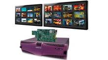 Miranda Technologies Inc. is a global provider of integrated solutions for production, playout and delivery systems for television broadcasters and multi-system operators. Its modular Kaleido multiviewer technology is shown here. (Miranda Technologies Inc.)