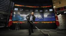 Kevin Davis, president and CEO of Bauer Performance Sports Ltd., poses for a photo at the TMX Broadcast Centre in The Exchange Tower, Toronto, in October, 2011. (Deborah Baic/The Globe and Mail)