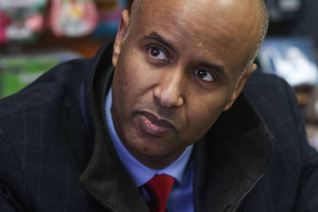 Canadian Immigration Minister Ahmed Hussen.