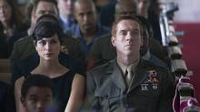 Morena Baccarin as Jessica Brody and Damian Lewis as Nicholas Brody in Homeland. (STRINGER/REUTERS)