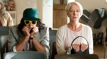 "Why so glum? Russell Brand and Helen Mirren star in the 1.5-star-rated remake of ""Arthur."" (Barry Wetcher)"