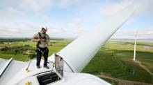 Sprott Power Corp. operates wind farms in Ontario and Nova Scotia. (PAUL DARROW/REUTERS)
