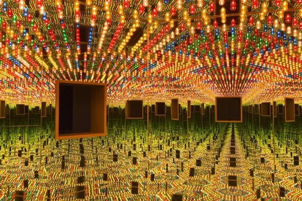 Yayoi Kusama: Infinity Mirrors will run at the Art Gallery of Ontario in Toronto from March 3 to May 27.