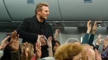 Liam Neeson in Non-Stop (Myles Aronowitz)
