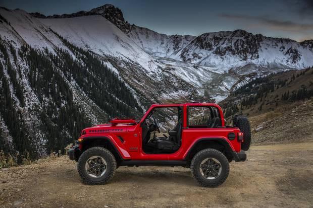 2018 Jeep Wrangler.