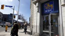 A Royal Bank of Canada, RBC location in Toronto. (Deborah Baic/The Globe and Mail)