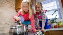 According to an Industry Canada report, only a quarter of Canadians eat a homemade meal, from scratch, every day – compared to half of families in 1992. And that means kids aren't exposed to home cooking much any more. (Tim Fraser for The Globe and Mail)