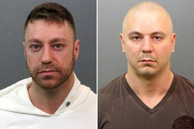 Jason Berry (left) and Patrick Provencher were arrested in 2013 for producing and distributing fentanyl tablets. It was the first big Canadian fentanyl bust.