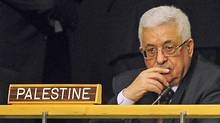 Palestinian Authority president Mahmoud Abbas attends the General Assembly at United Nations headquarters in New York on Setp. 21, 2011. (EMMANUEL DUNAND/AFP/Getty Images)