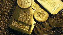 Gold at Montreal bullion dealer Bart Kitner's company, Kitco. (IAN BARRETT/Globe & Mail)