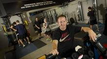 Gary Roberts, now retired from the NHL, is photographed at the Gary Roberts High Performance Training gym in Toronto on Oct. 18, 2012. Many young hockey players are taking advantage of facilities like this to advance their budding careers. (Peter Power/The GLobe and Mail)