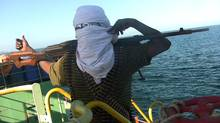 A Somali pirate in Stolen Seas