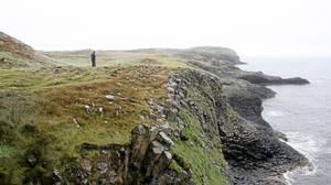 Wonder at the wayward piles of hexagons on the Isle of Staffa.