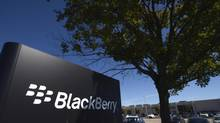 The BlackBerry 14 offices, located at 440 Phillip St. in Waterloo, Ont., home of the beleaguered smartphone company. BlackBerry's prized intellectual property risks leaving the country. (Fred Lum/The Globe and Mail)