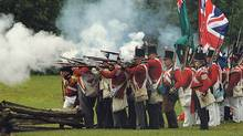 The fog of war: War of 1812 battle re-enactments will take place at several historic sites across southern Ontario