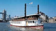 An Elizabethan passenger boats will be just one of up to a thousand boats taking part in the Diamond Jubilee Pageant.