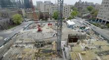 Builders took out $6-billion worth of permits in the month, Statistics Canada reported on Thursday. (Fred Lum/The Globe and Mail)