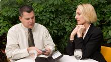 A new study says men are expected to pay for their supper in the early stage of courtship. (Thinkstock)