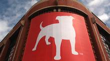 The corporate logo of Zynga Inc, the social network game development company, is shown at its headquarters in San Francisco in this April 26, 2012 file photo (ROBERT GALBRAITH/REUTERS)