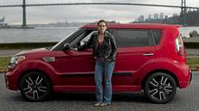The Kia Soul's good safety rating was imprtant to Dawna Friesen. (Rafal Gerszak/Rafal Gerszak for The Globe and Mail)