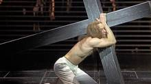 "Paul Nolan as Jesus in ""Jesus Christ Superstar"" (David Hou/Stratford Shakespeare Festival)"