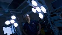 James Wright, the chief of surgery at Toronto's Hospital for Sick Children, in an operating room that was built with funds he raised personally. (Kevin Van Paassen/The Globe and Mail/Kevin Van Paassen/The Globe and Mail)