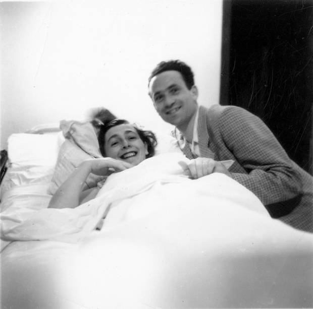Ruth and Roman Blank had been married for 65 years when Roman came out as gay to the family when he was 95. His grandsons are directors of the new film On My Way Out: The Secret Life of Nani and Popi, about their grandfather's secret and the rupture in the family.