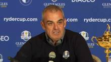 2014 European Ryder Cup captain Paul McGinley