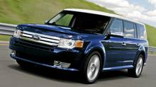 2011 Ford Flex: Flex with EcoBoost is available on the SEL, Limited and Titanium series. (Ford Motor Company Ford)