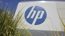 "HP bought the British company Autonomy for $11.1-billion (U.S.) last year, a price many analysts considered more than it was worth, and announced on Tuesday that it was writing off about $5-billion due to ""serious accounting improprieties"" that inflated the unit's numbers before the deal. (Paul Sakuma/AP)"