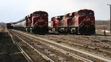 Since last November, the Dow Jones transportation average has gained 36.5 per cent and recently reached an all-time high. (Nathan Vanderklippe/The Globe and Mail)