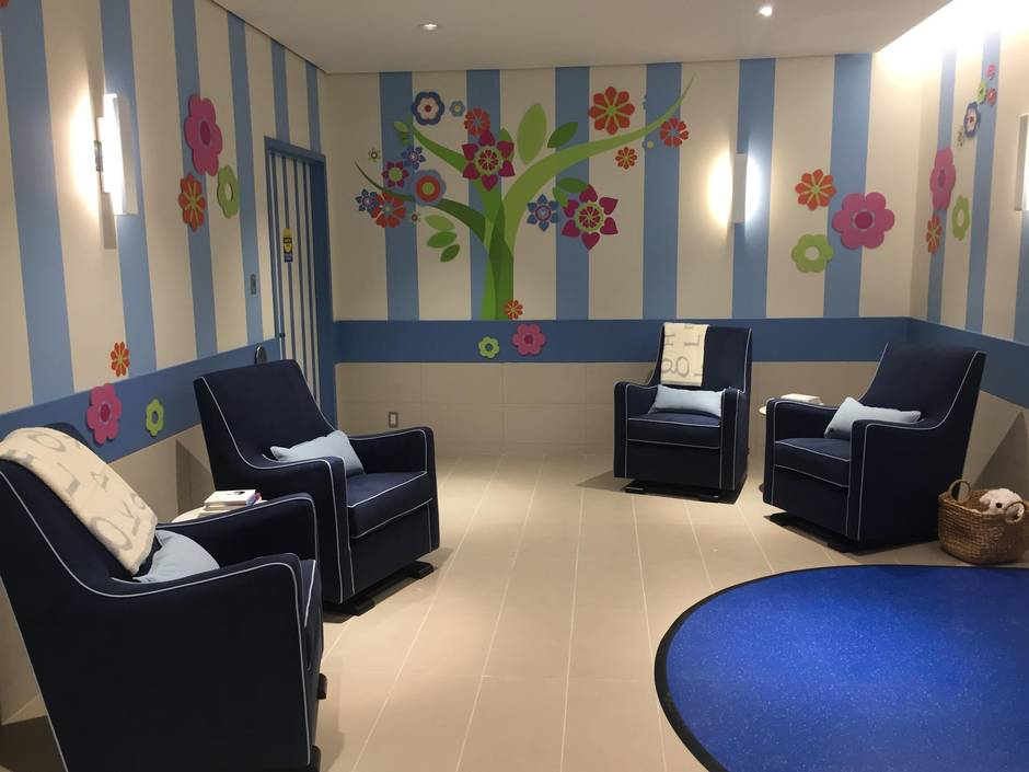 At The Recommendation Of Female Staff With Oshawa Centre Owner Ivanhoe A Nursing Lounge For Mothers Has Been Incorporated Into Renovated Mall