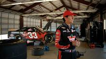 Ron Fellows in the garage with his NASCAR Sprint Cup car. This weekend he will concentrate on his duties as co-owner of the Canadian Tire Motorsport Park (CTMP) venue for Sunday's Chevrolet Silverado 250. (Canadian Tire)