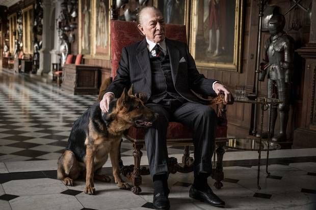 Christopher Plummer is J. Paul Getty in the film All the Money in the World.