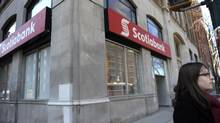 A Scotiabank branch in downtown Toronto. (Fred Lum/Fred Lum/The Globe and Mail)
